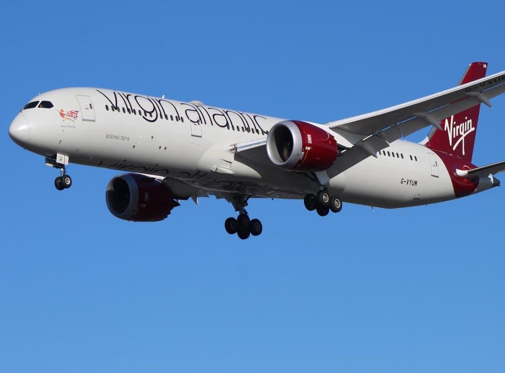 Virgin Atlantic kept afloat by rescue package