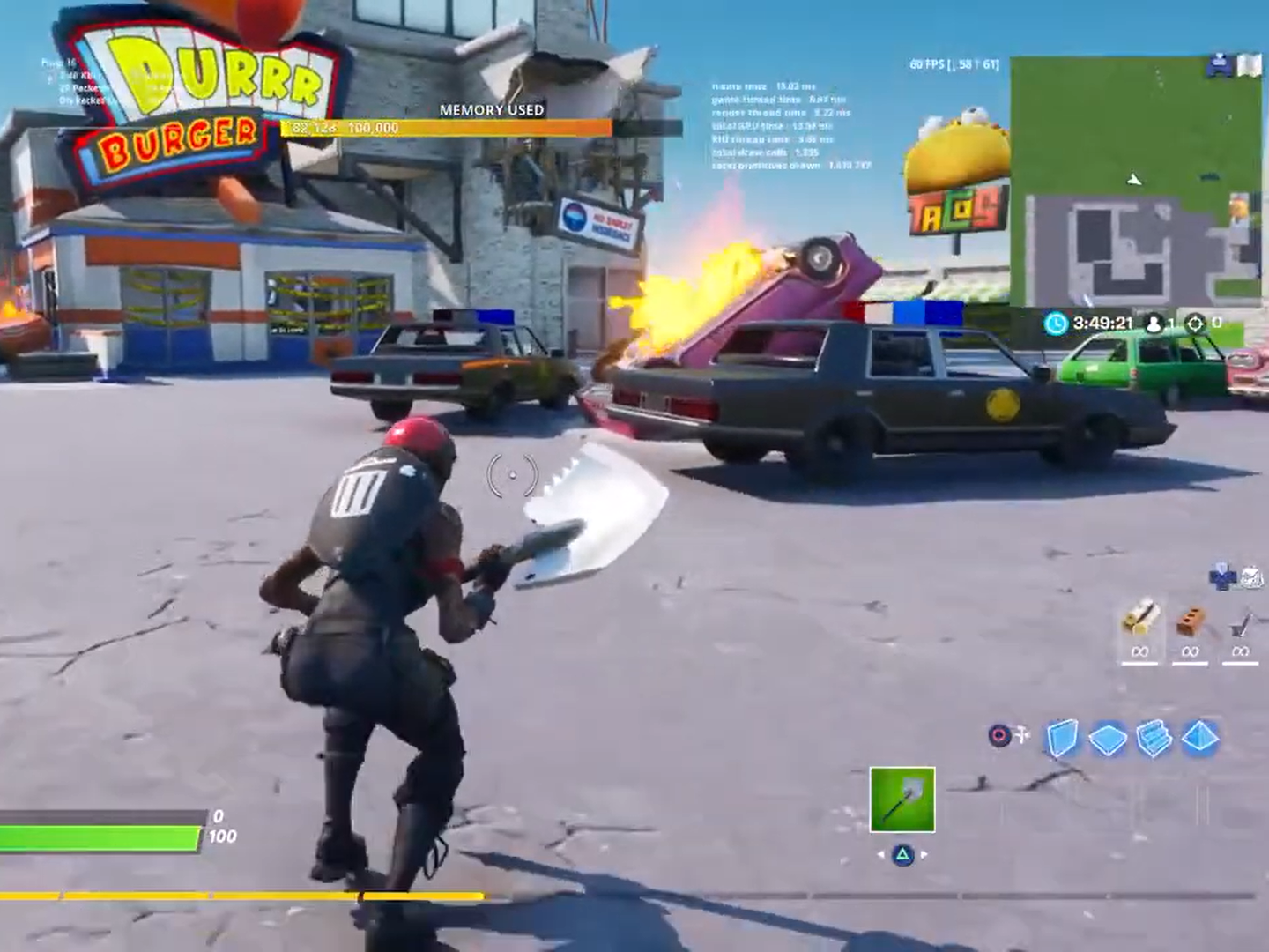 Fortnite Removes Police Cars From Game After George Floyd Protests