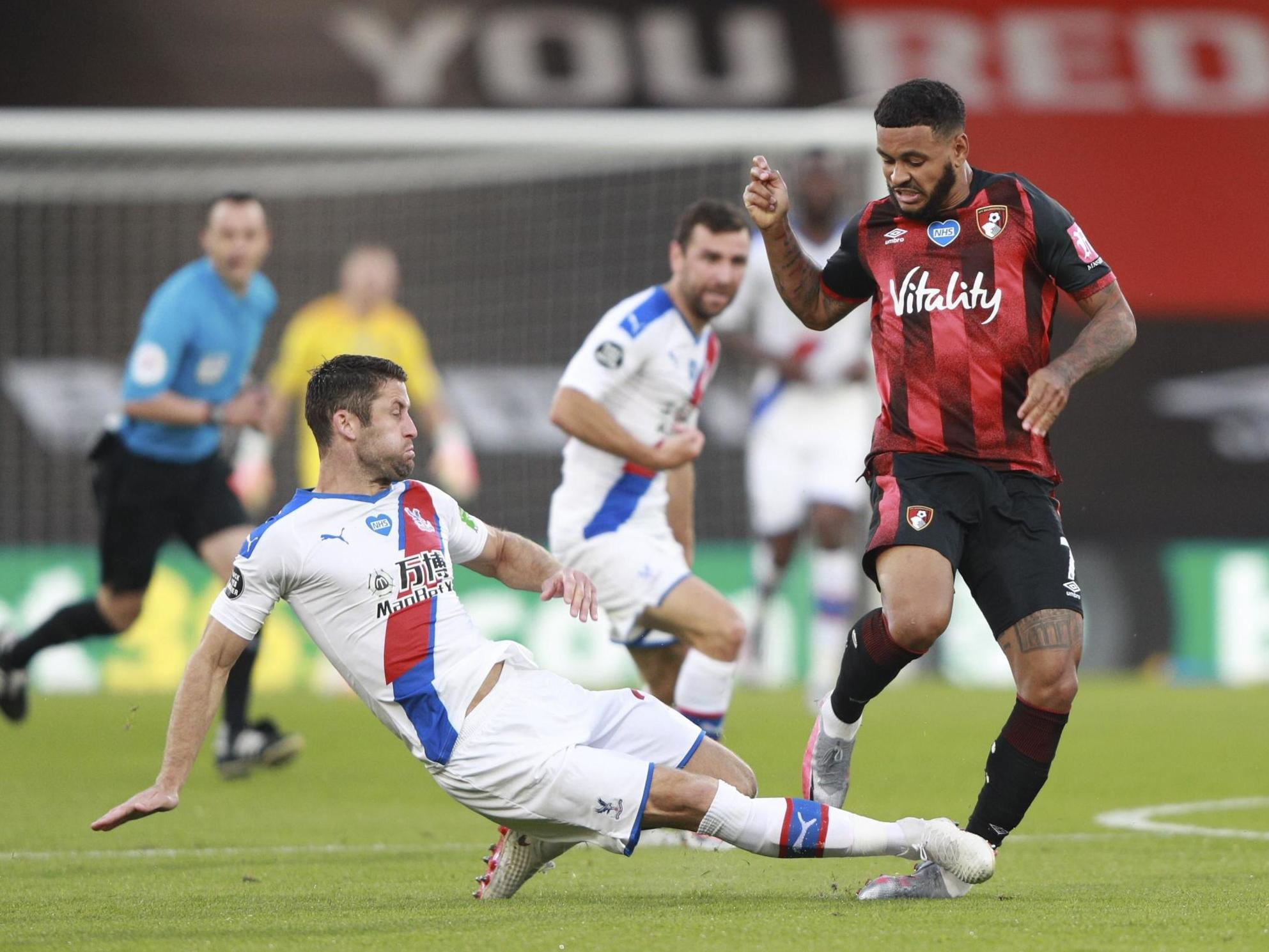 Bournemouth striker Joshua King escapes 'nasty injury' after Gary Cahill  tackle   The Independent   The Independent