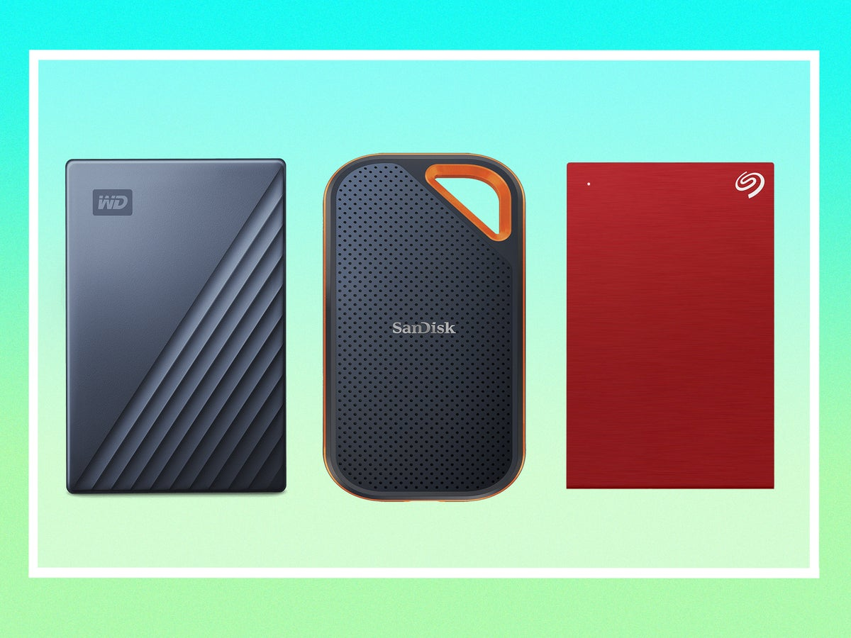 Best External Hard Drive 2020 Keep Your Mac Or Pc Data Safe The Independent
