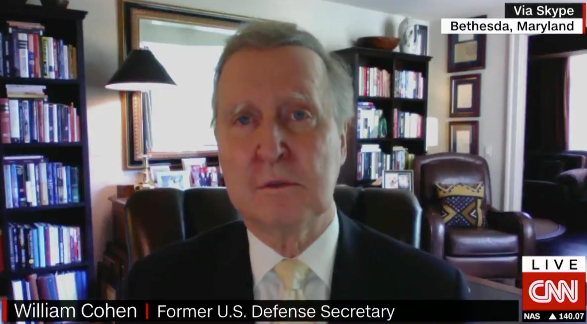 Trump 'taking us down road to tyranny', says former defence secretary