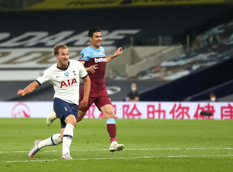 Harry Kane scores Spurs' second