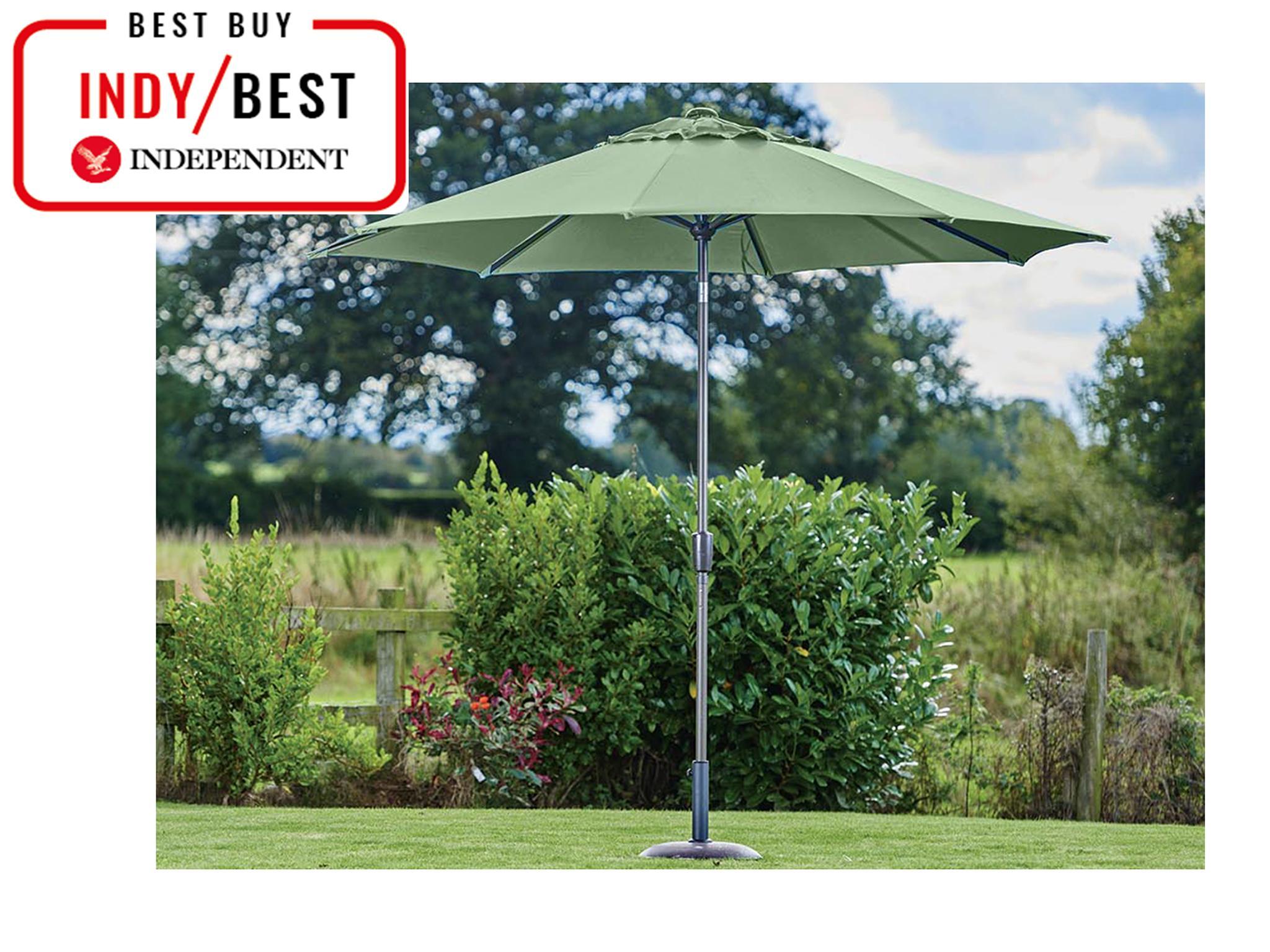 Alfresco Deluxe Rain Cover for Standard Parasol Waterproof UV Resistant