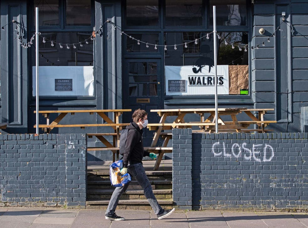 A closed pub in New Cross, south London