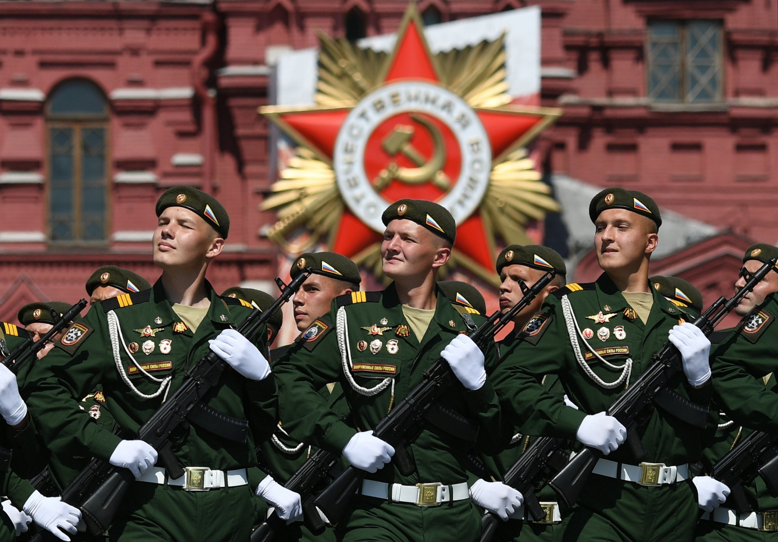 Russia holds Victory Day parade in face of coronavirus fears and popular bewilderment