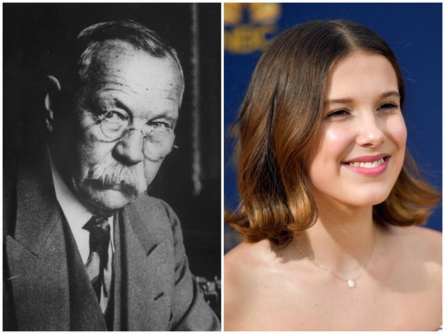 Millie Bobby Brown plays Sherlock Holmes' younger sister in new film 'Enola Holmes'