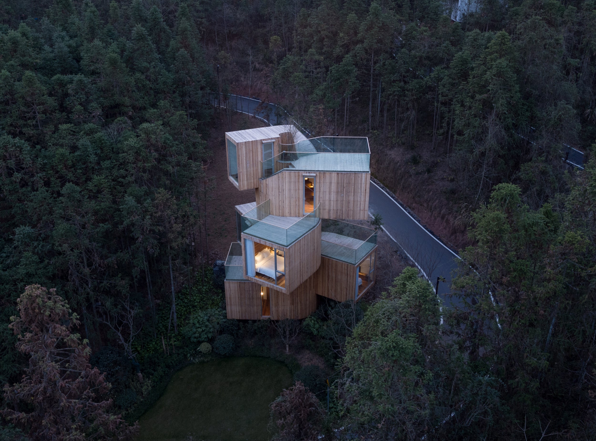 Edgy architecture: Discover unique buildings in the most impossible places