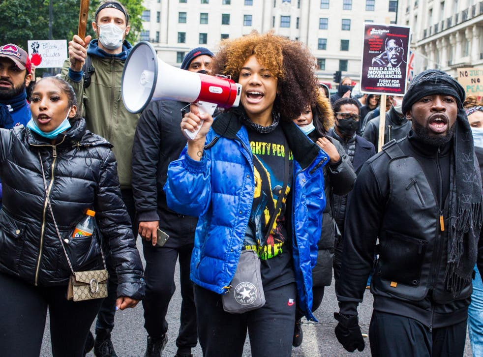 Loud and clear: protesters make their voices heard at a Black Lives Matter demonstration in London