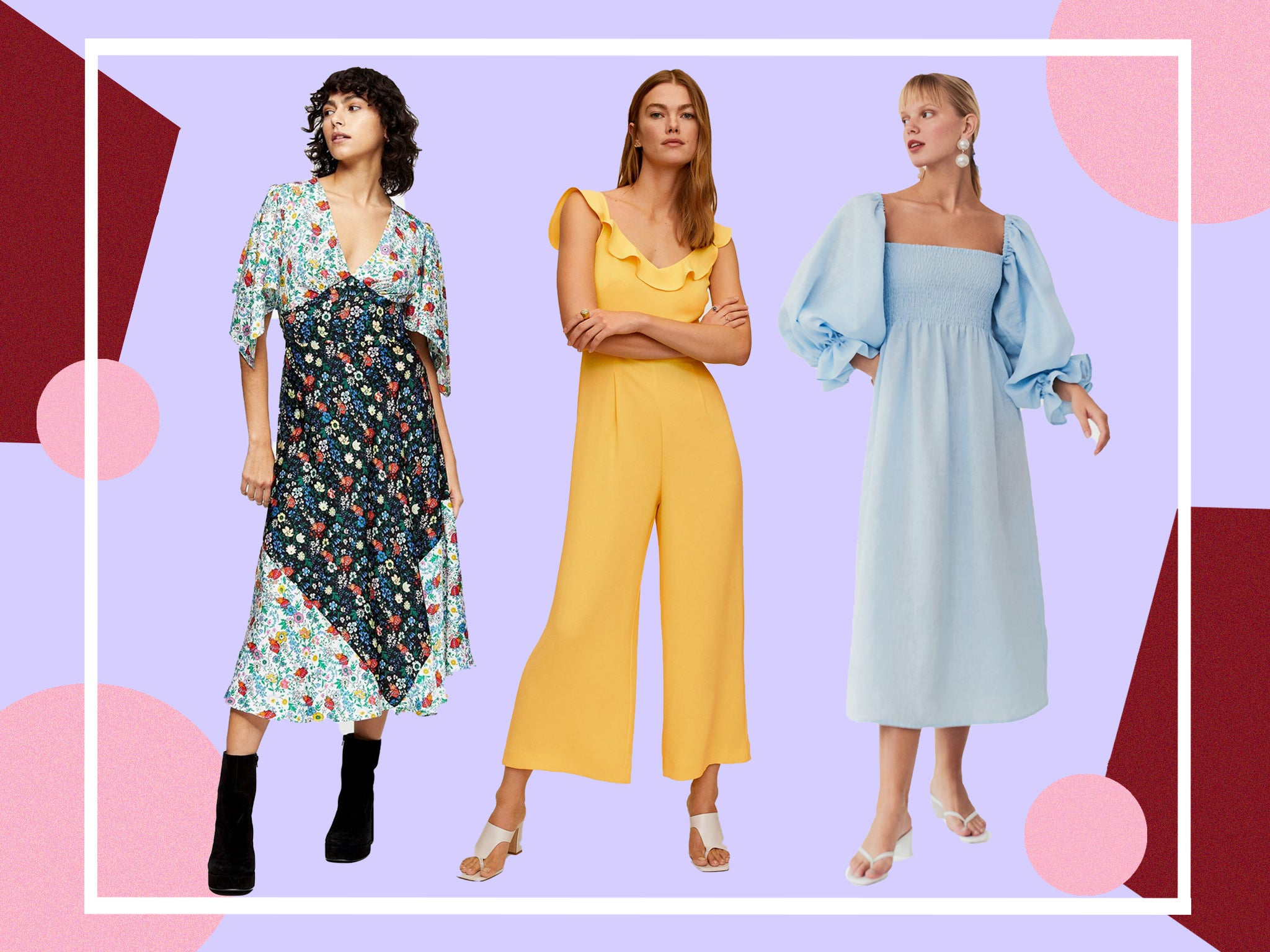 Wedding Guest Outfits 2020 What To Wear Now Receptions Are Back On The Independent