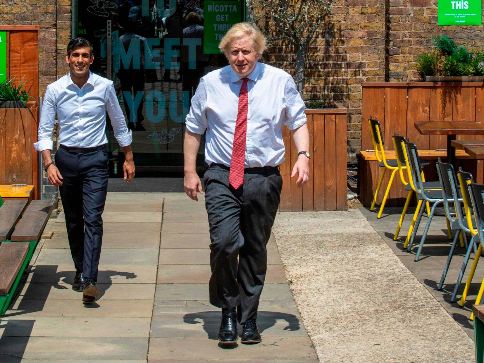 Opinion: Boris Johnson's 'build' speech was disastrously timed. Now all eyes are on Rishi Sunak