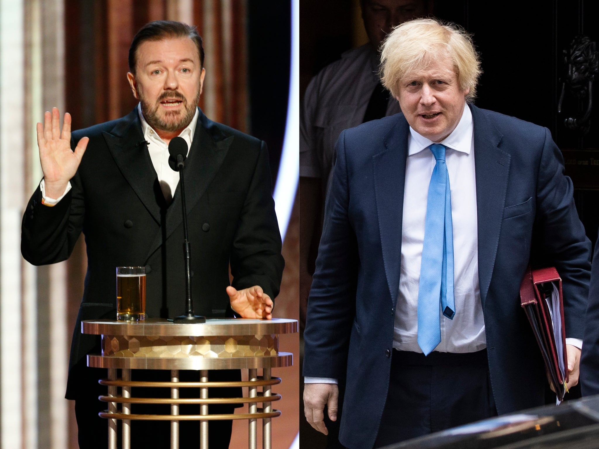 Ricky Gervais among stars urging Boris Johnson to help end exotic pet trade