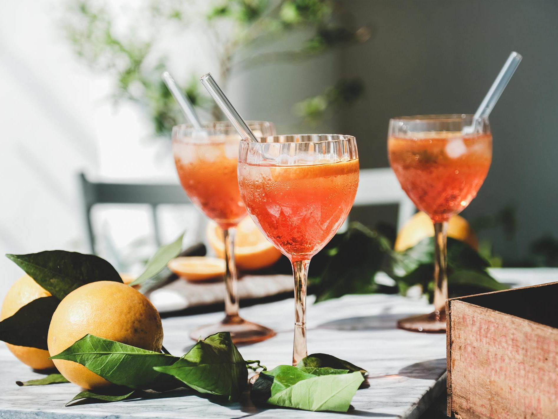How to make a Rosé Aperol Spritz