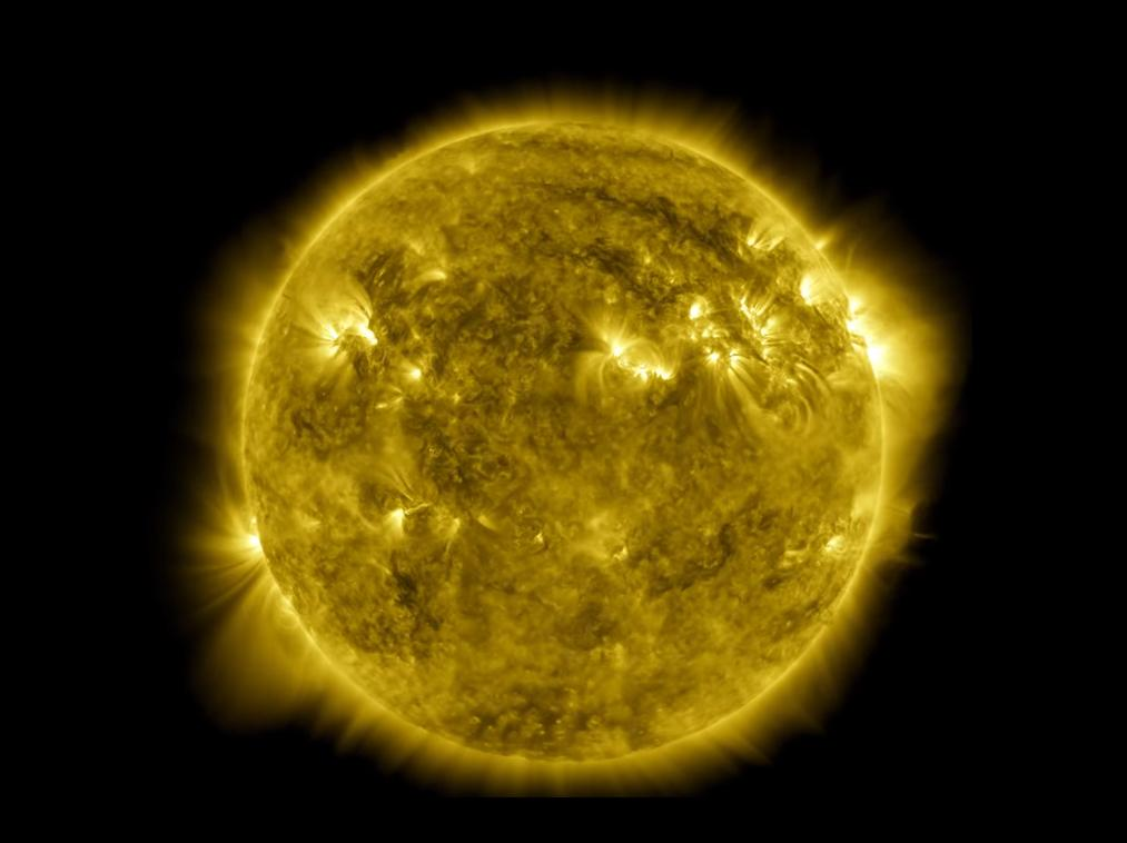 NASA shares time lapse footage of the sun over a decade