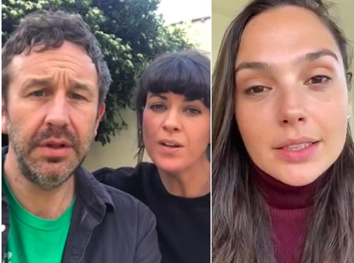 Chris O'Dowd calls celebrity 'Imagine' video 'creative diarrhoea'