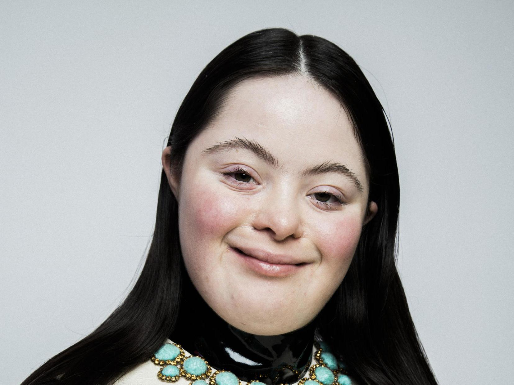 Model with Down's syndrome stars in Gucci Beauty campaign in Italian Vogue