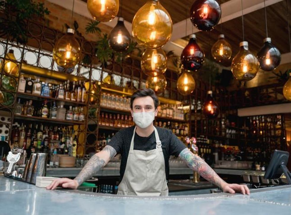 Majority of adults will refuse to wear face masks at pubs and restaurants,  poll claims   The Independent   The Independent