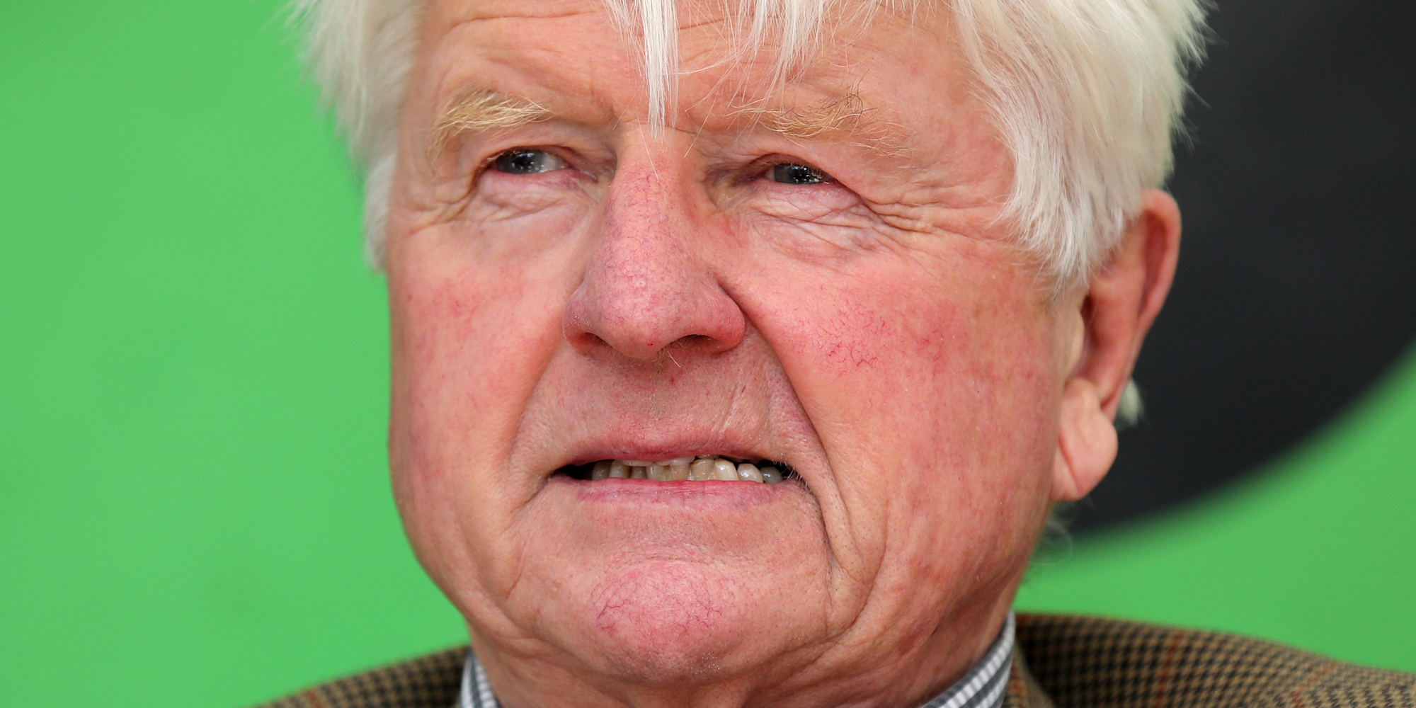 Boris Johnson's father Stanley ignores his son's warnings and jets off to luxury Greek villa