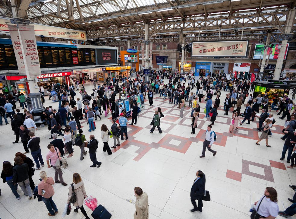 Victoria Station is the second busiest railway terminus in London and the UK