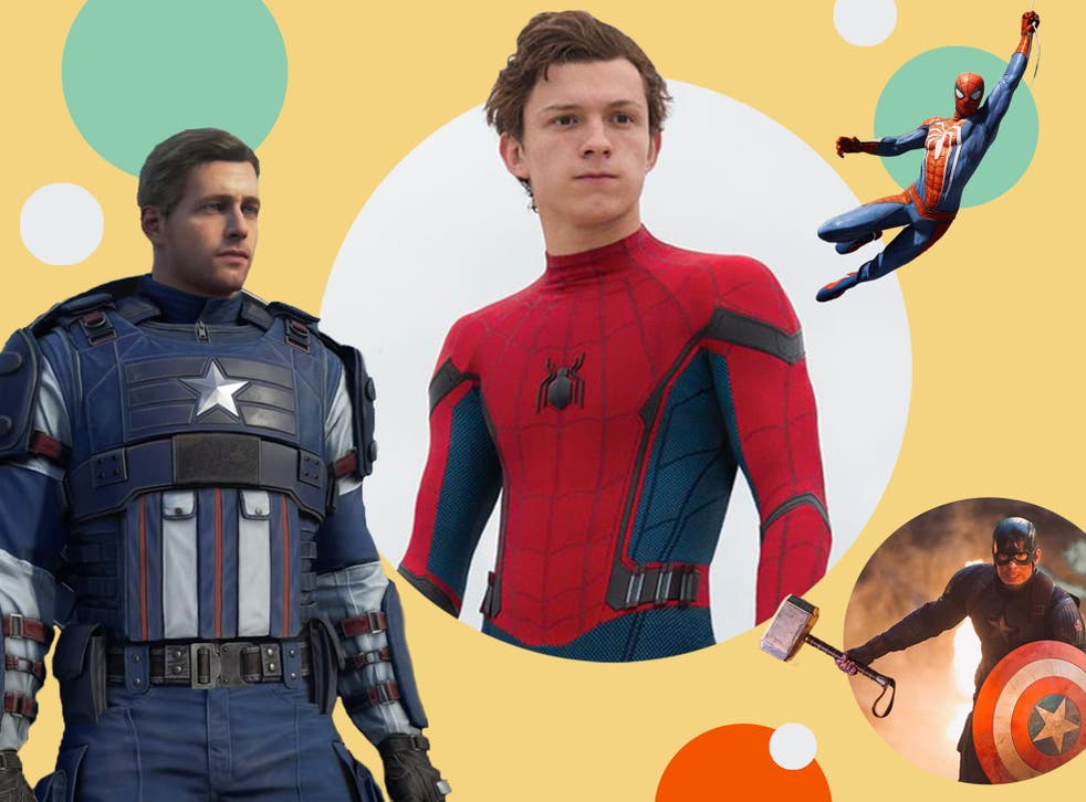 Captain America and Spider-Man are made for gaming, with less time spent on basic cinematic structures and conventions