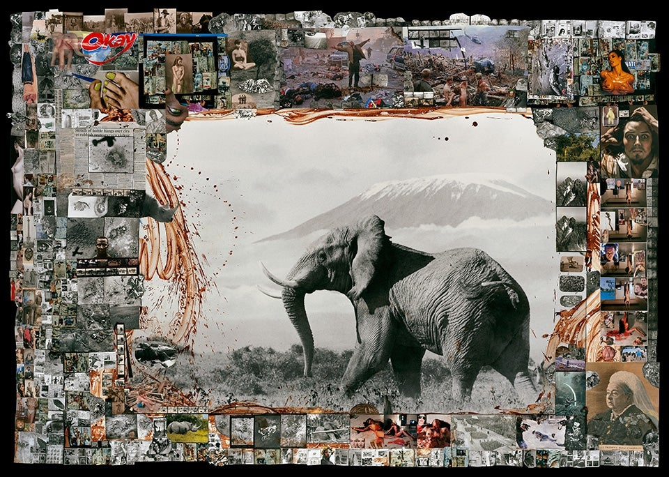 Journey into the world of Peter Beard: The pioneering contemporary artist who turned his life into a collage