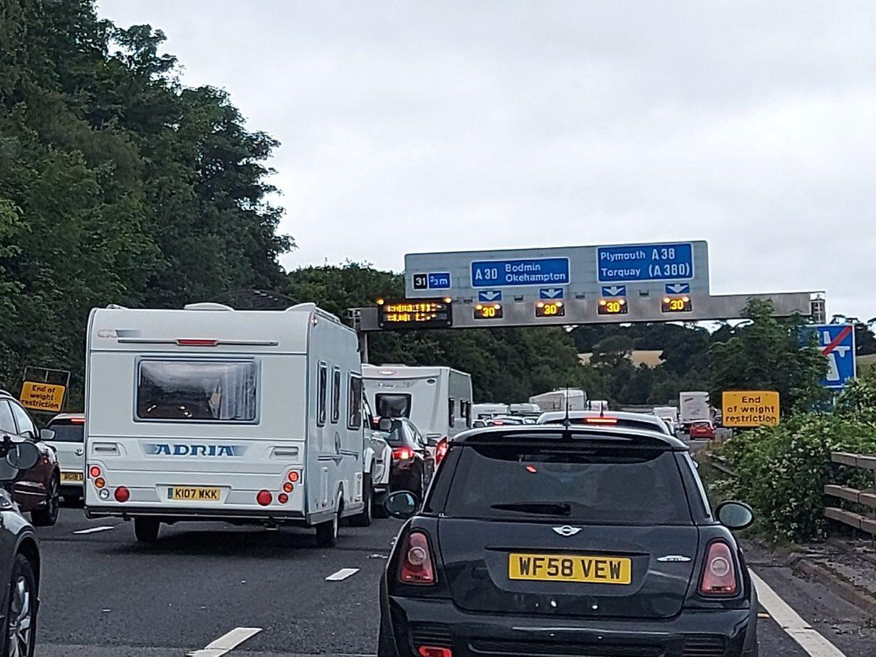 Coronavirus news – live: Traffic 'chaos' as holidaymakers flock to coast in England while Spain puts one region back into lockdown thumbnail
