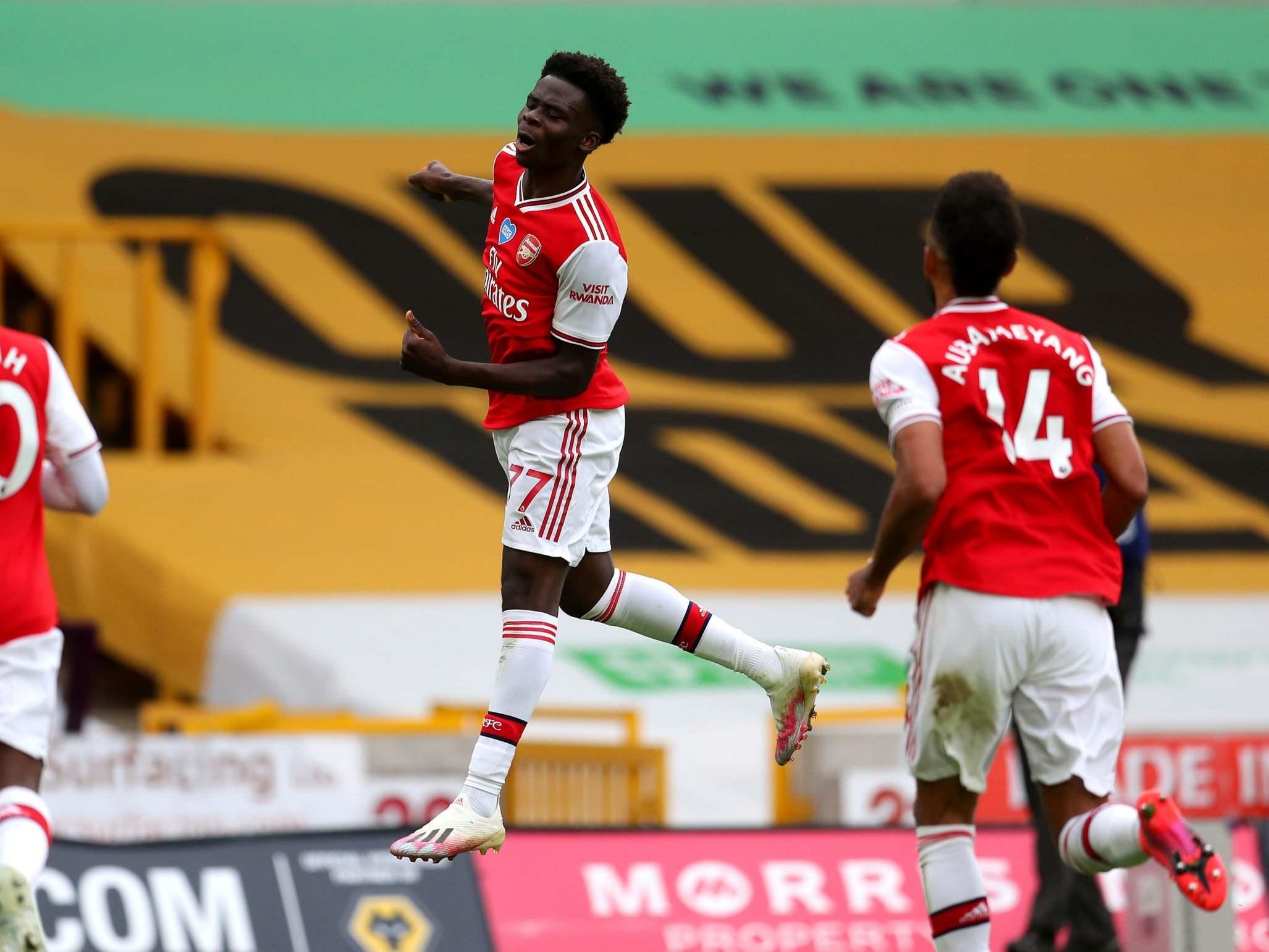 Wolves vs Arsenal player ratings: Bukayo Saka shines as Gunners keep European hopes alive thumbnail