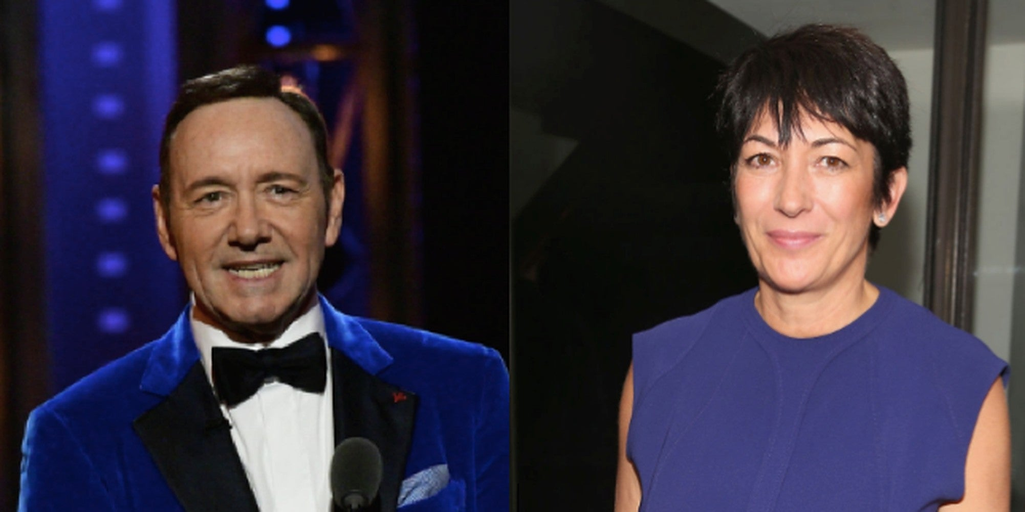 Outrage at photo of Ghislaine Maxwell and Kevin Spacey sitting on thrones in Buckingham Palace