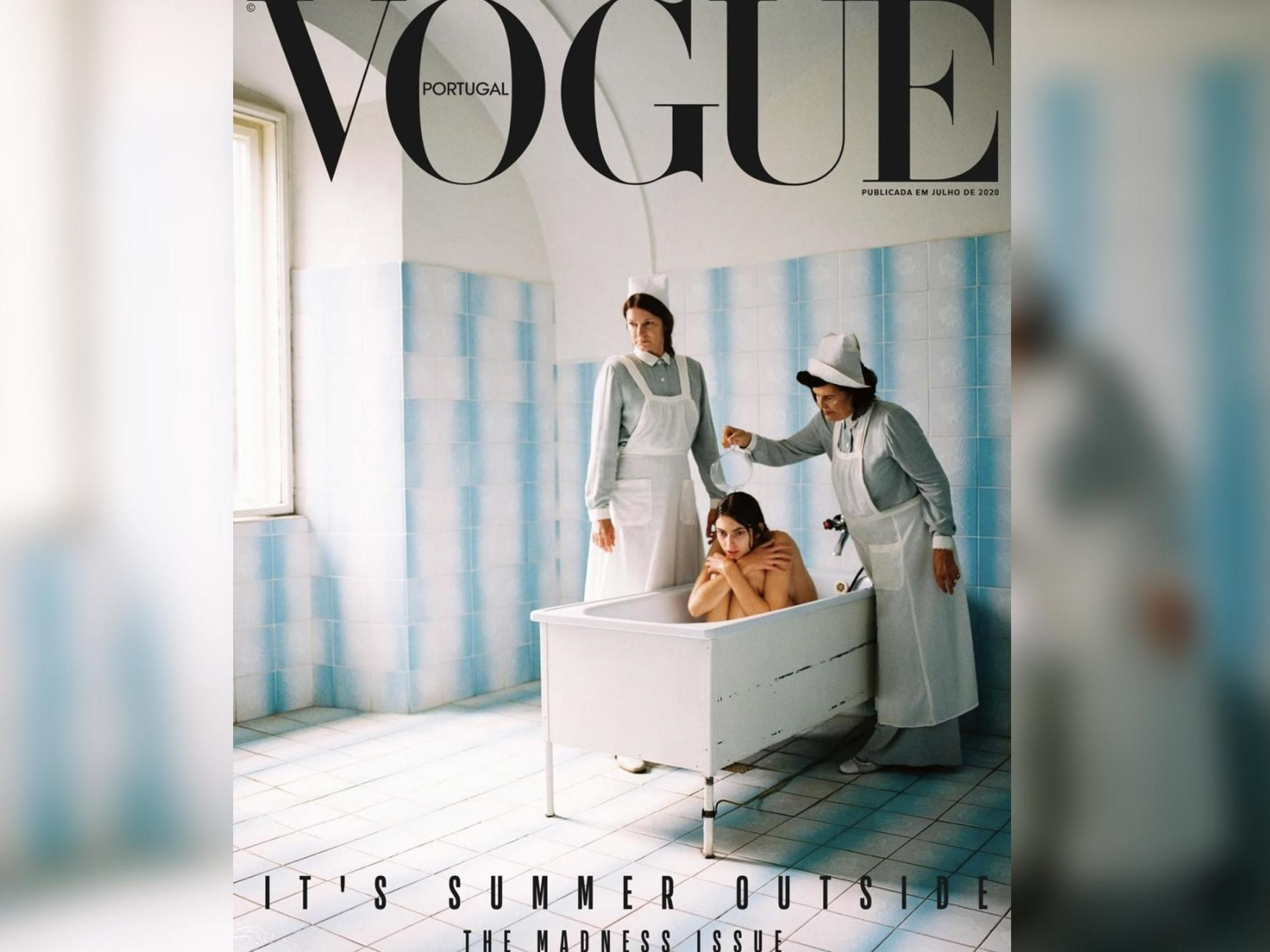 Vogue Portugal's 'bad taste' front cover made me feel better about my psychosis and OCD