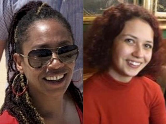 <p>Bibaa Henry (left) and Nicole Smallman (right) were found dead last year</p>