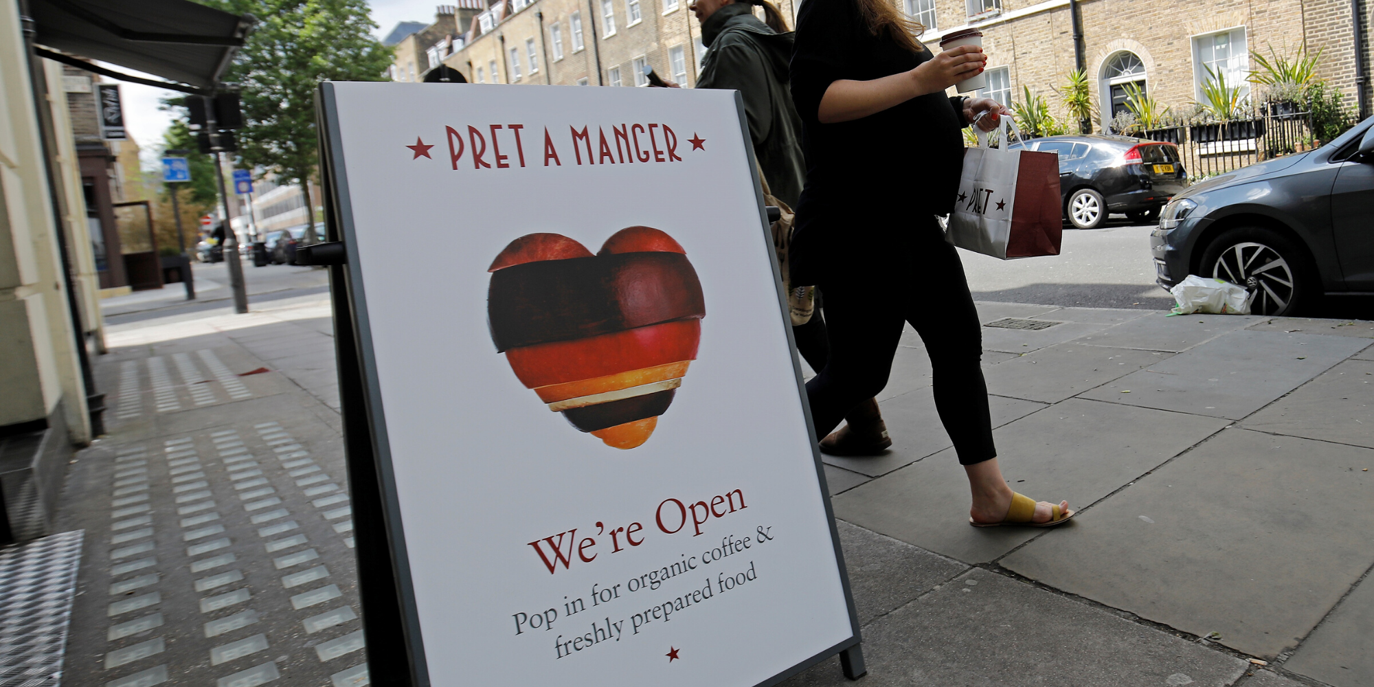 Pret A Manger announced it's closing 30 stores, and everyone's pointing out the obvious