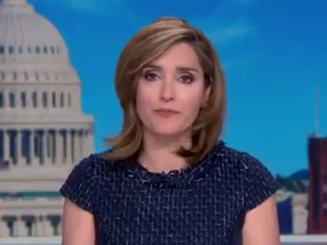Margaret Brennan during Face the Nation on Sunday