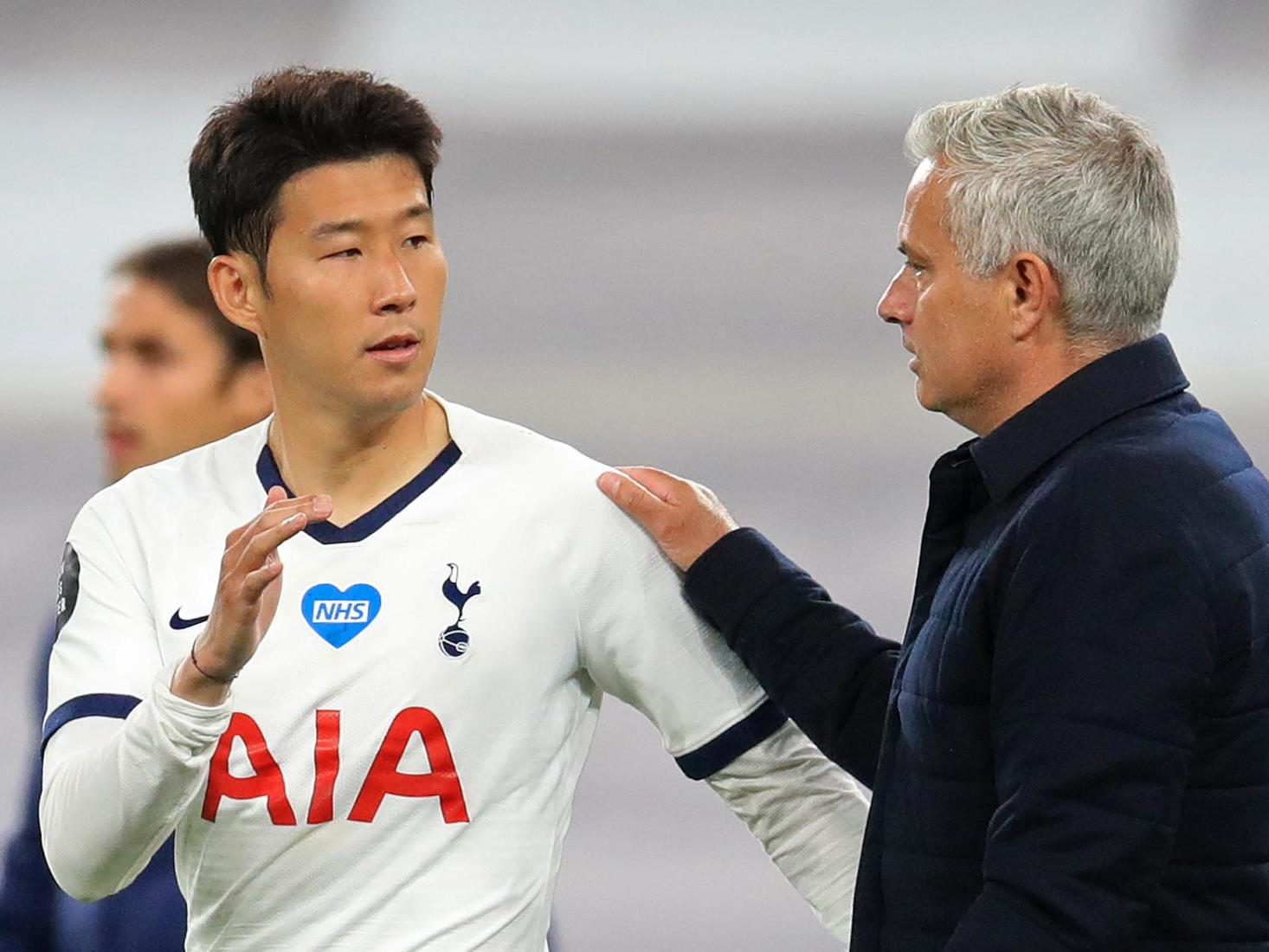 'That's beautiful!' – Jose Mourinho thrilled after Tottenham teammates Hugo Lloris and Son Heung-min engage in furious half-time row - The Independent