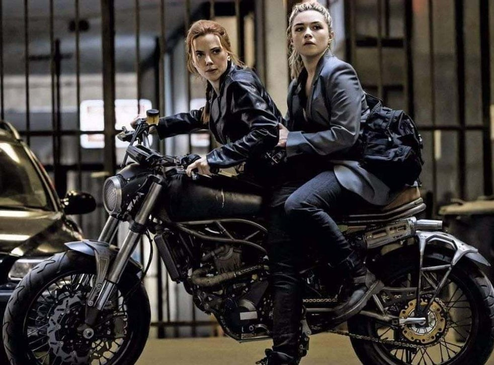 Scarlett Johansson and Florence Pugh in 'Black Widow'