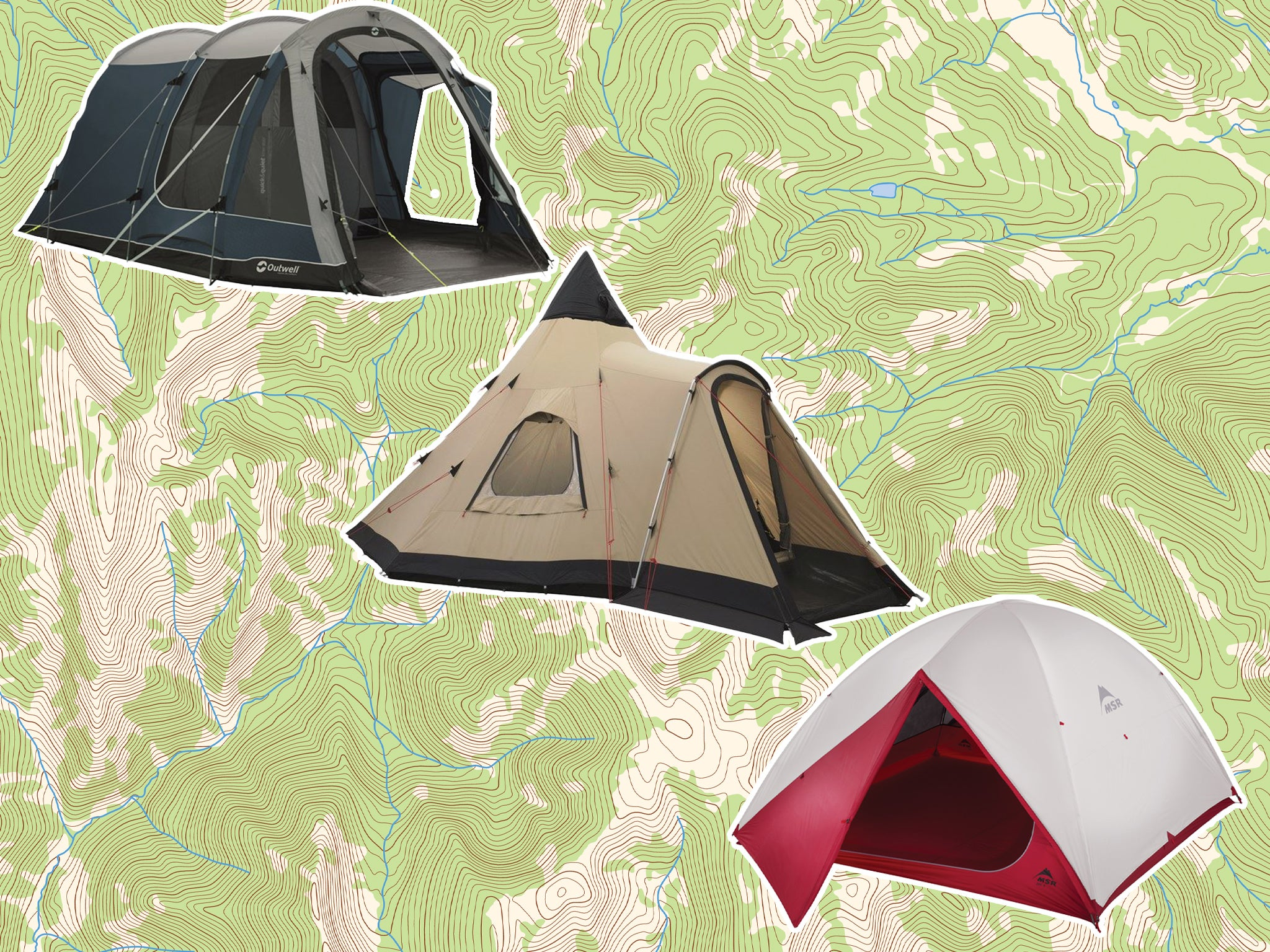 best 4 man tent for wild camping