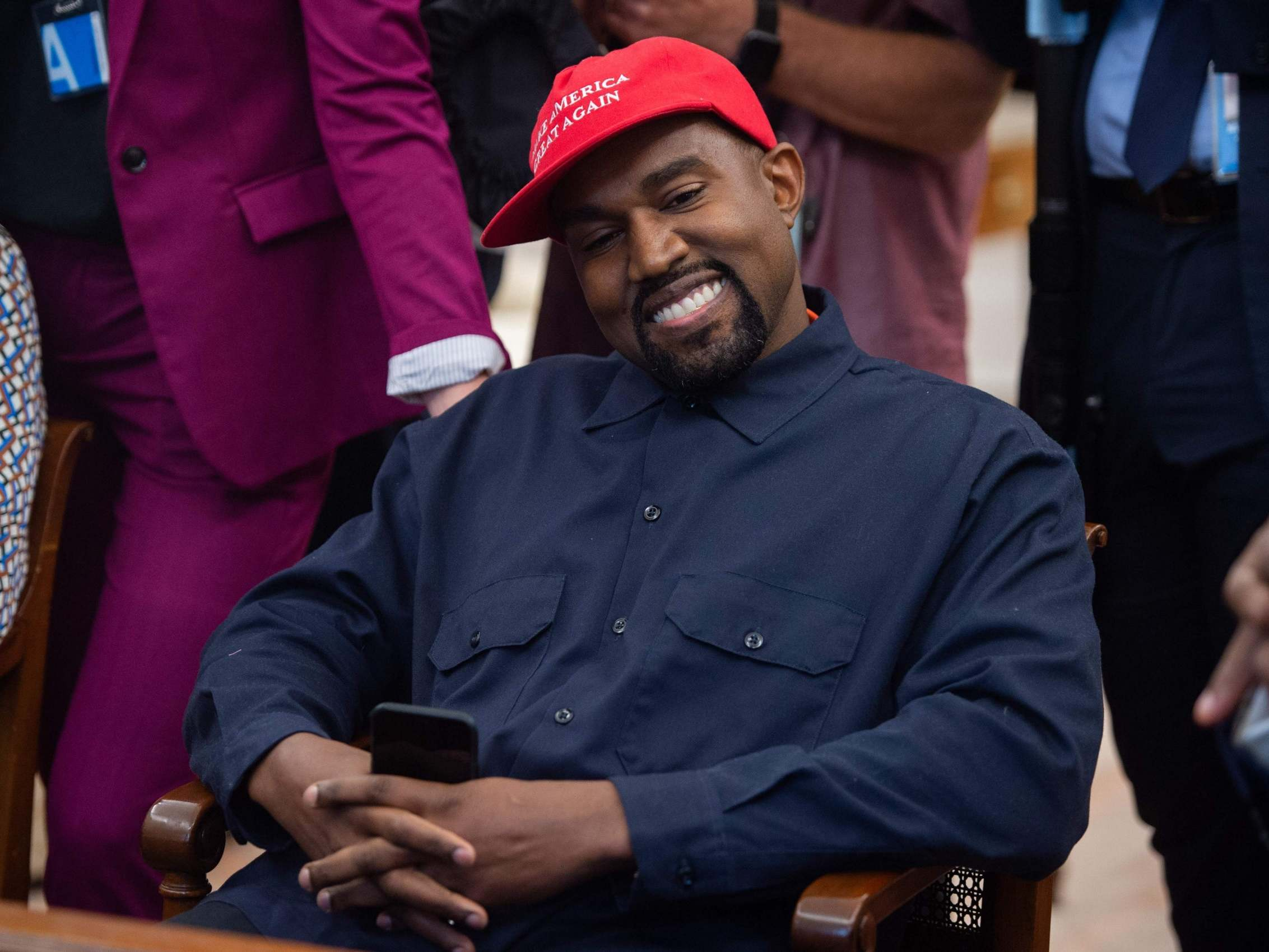 Trump administration hands emergency loans to Kanye West and Church of Scientology as small businesses go bust