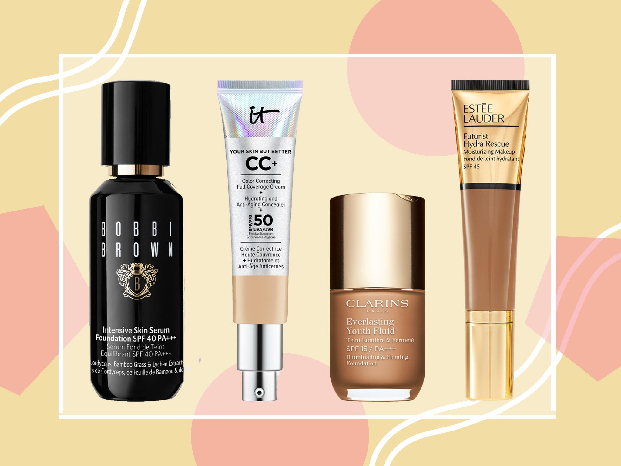 Best Foundations For Mature Skin Lightweight Serums Powders And Creams The Independent