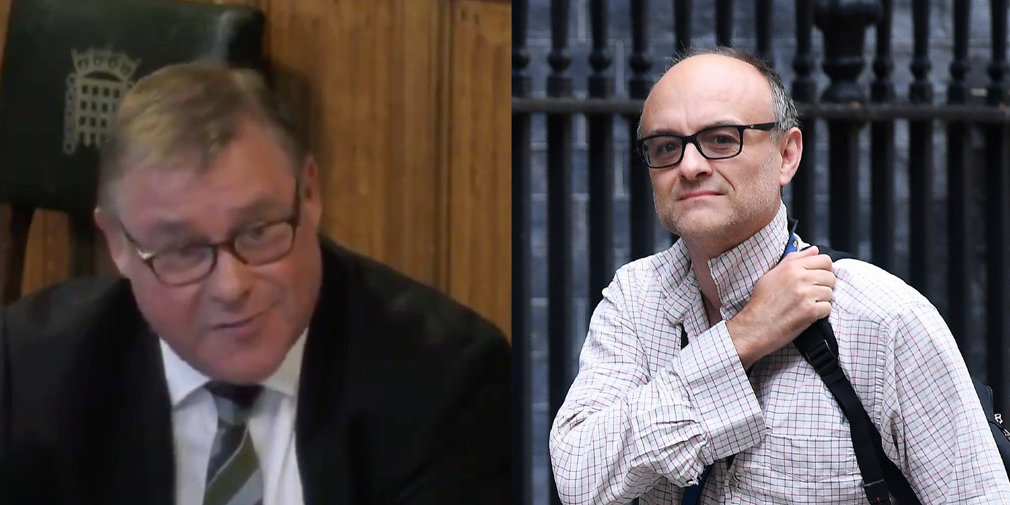 Mark Francois ridiculed after warning army general 'Cummings is going to sort you out'