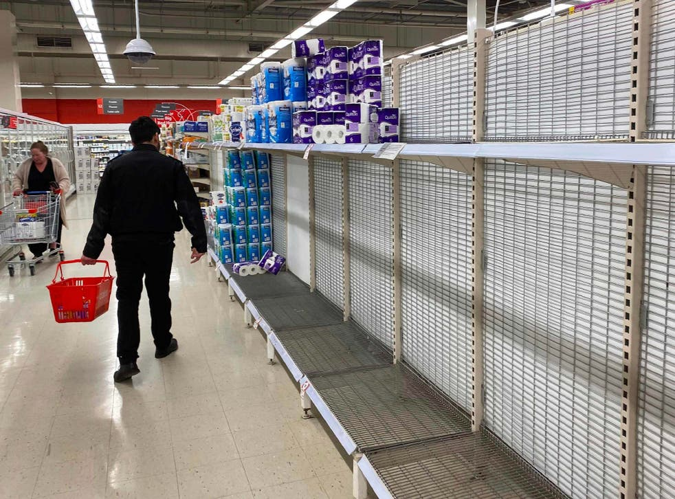 Supermarkets impose limits on essential items after panic buying in Melbourne
