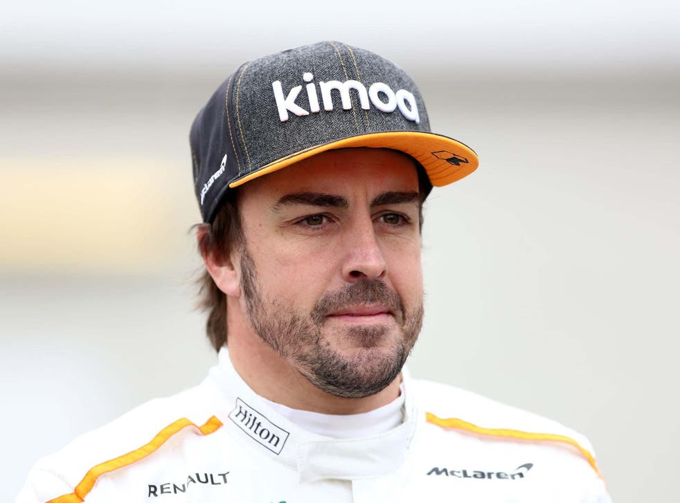 Fernando Alonso is back with the team he won his two world titles