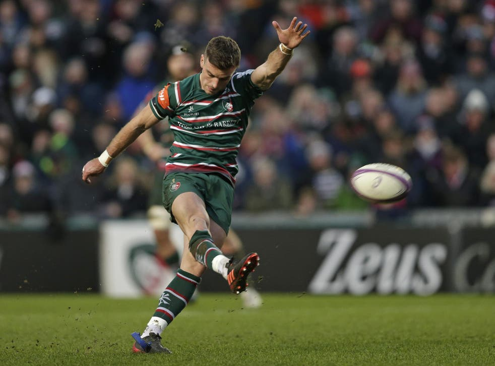 George Ford has committed his 'long-term' future to Leicester
