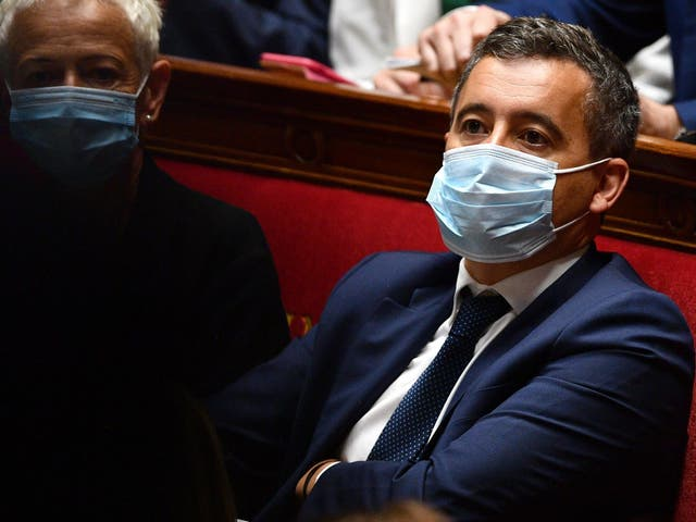 As interior minister, Mr Darmanin is in charge of police and other law enforcement bodies