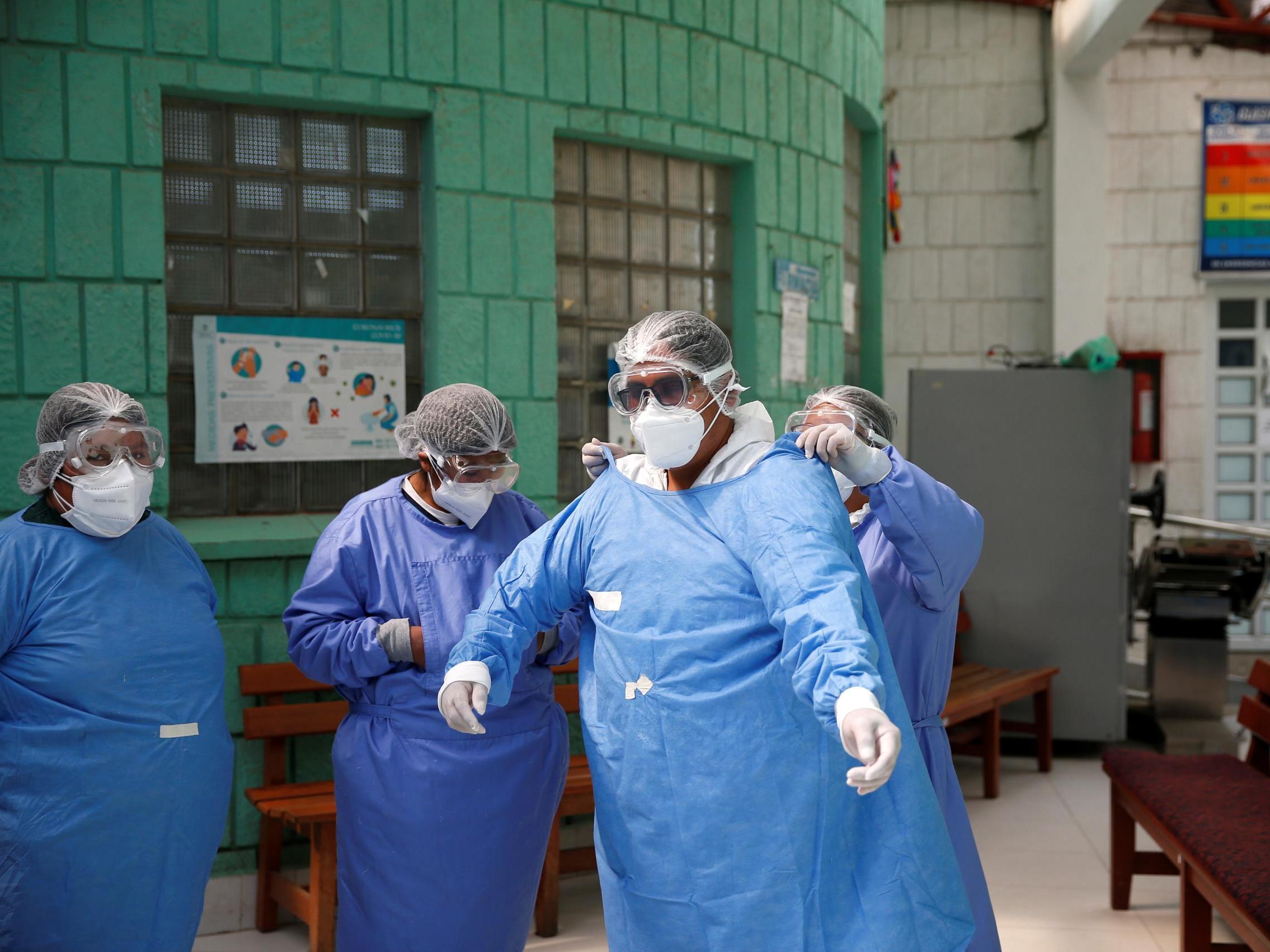 Global coronavirus cases top 12 million