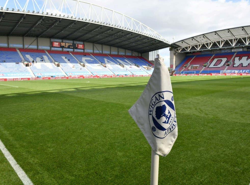 Wigan Athletic were placed in administration overnight in an 'unprecedented' scenario