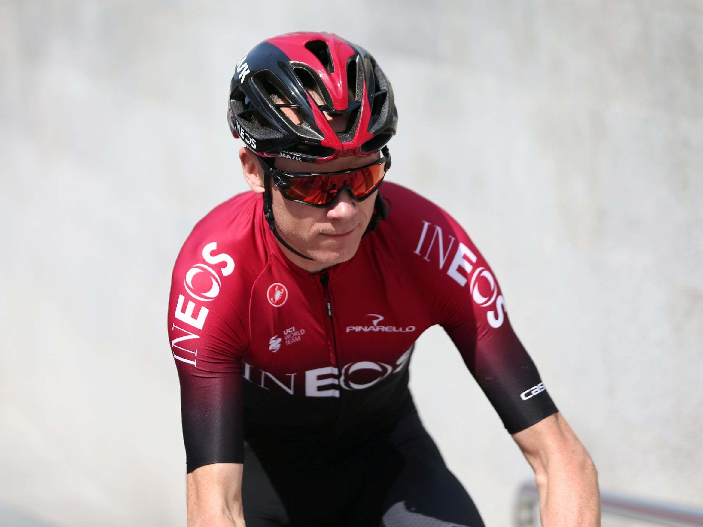 Chris Froome back in the saddle this weekend at La Route d'Occitanie