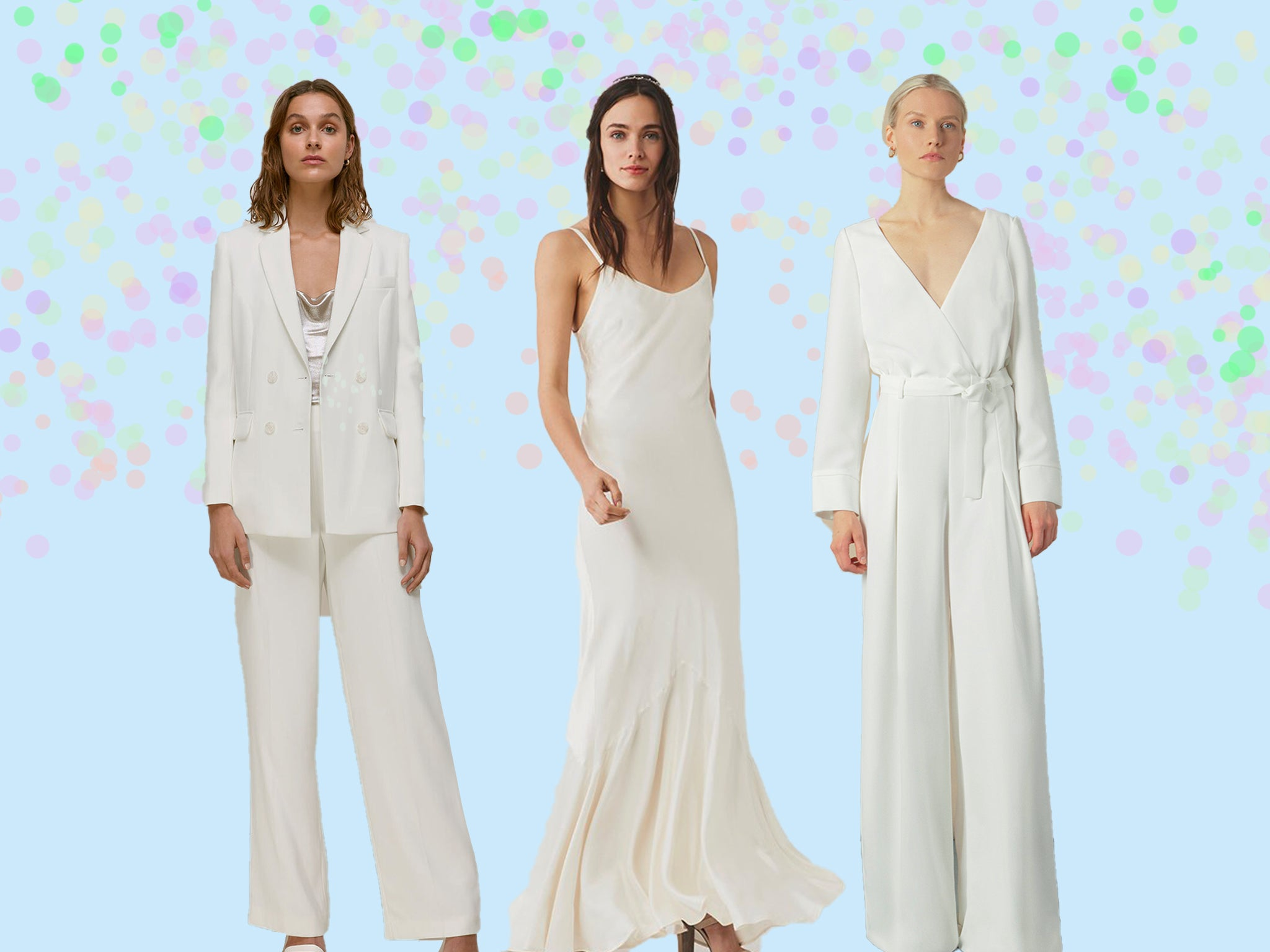 Bridal Outfit Inspiration For An Intimate Civil Ceremony Wedding The Independent