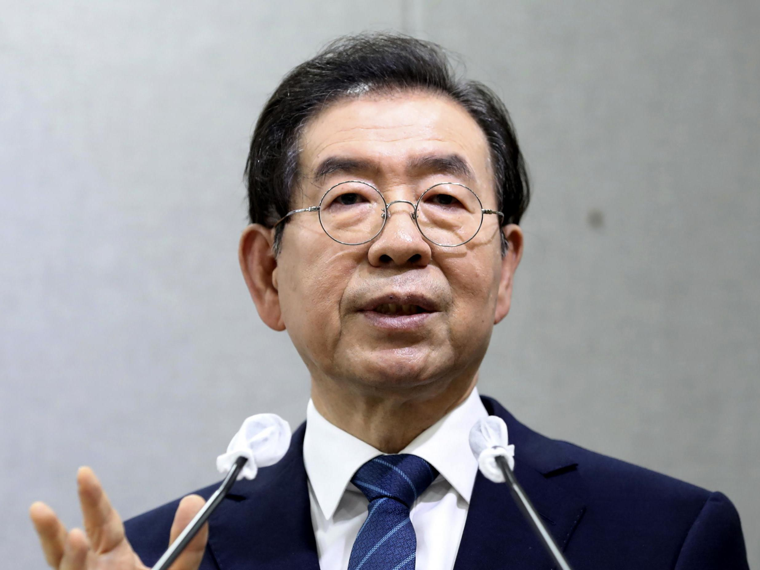 Park Won-soon: Seoul mayor found dead | The Independent