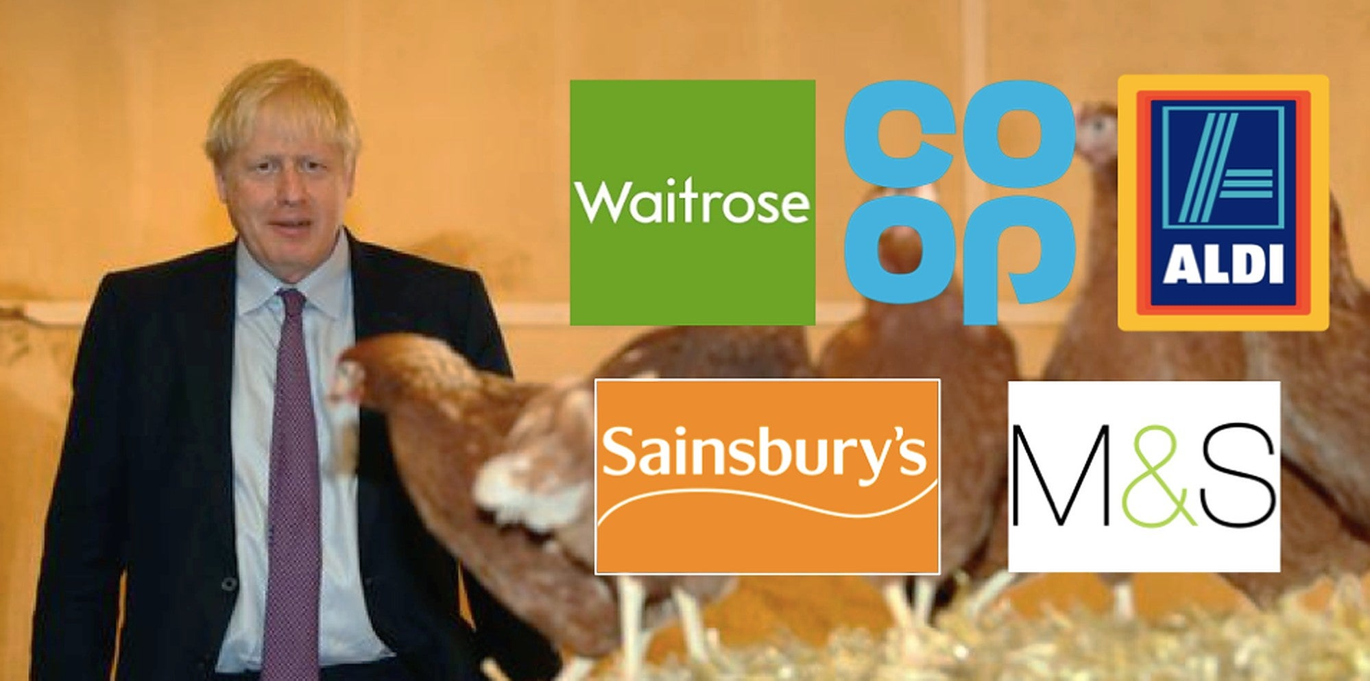 All of these supermarkets have told Boris Johnson they'll never stock Trump's chlorinated chicken