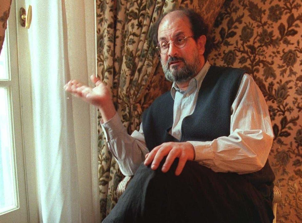 Rushdie in 1996