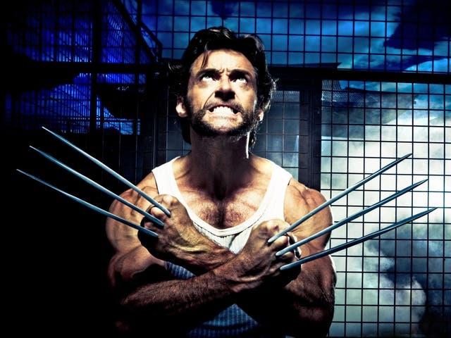 Grumpy grizzly gentleman: Hugh Jackman as X-Men's Wolverine