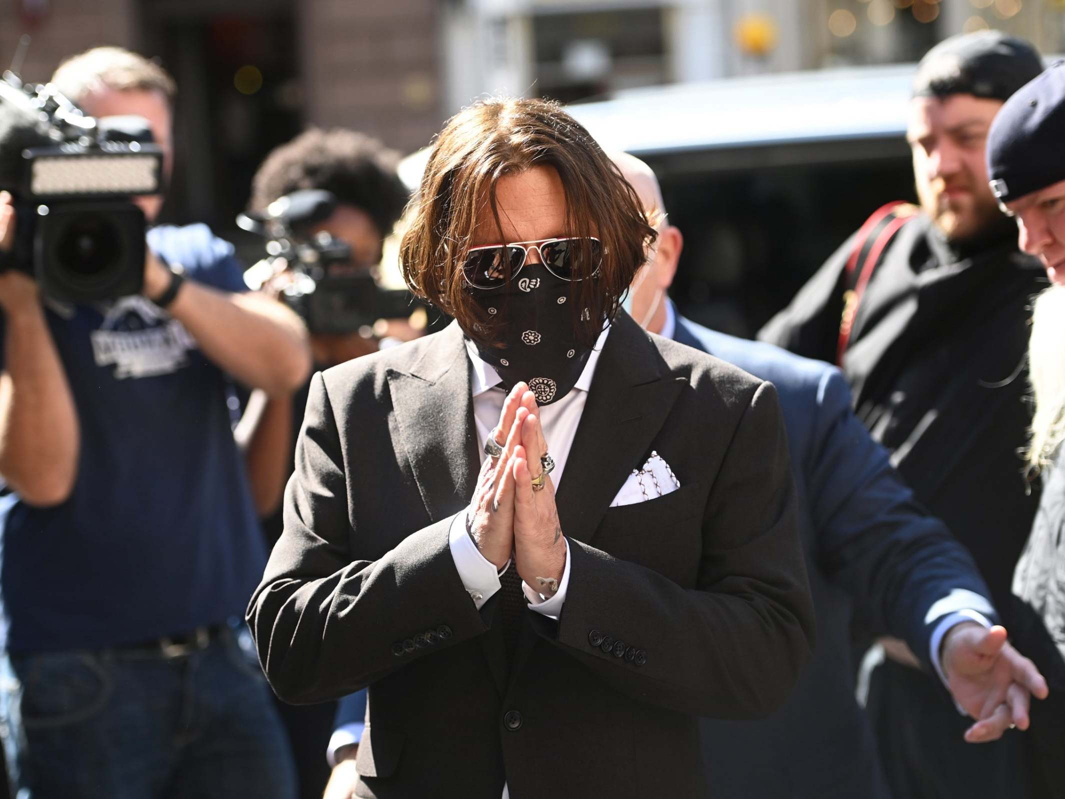 Johnny Depp libel trial: Actor says Amber Heard's domestic abuse claims  part of 'conspiracy' | The Independent | The Independent